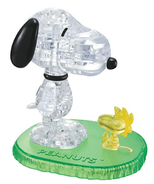 3D Snoopy & Woodstock Puzzle