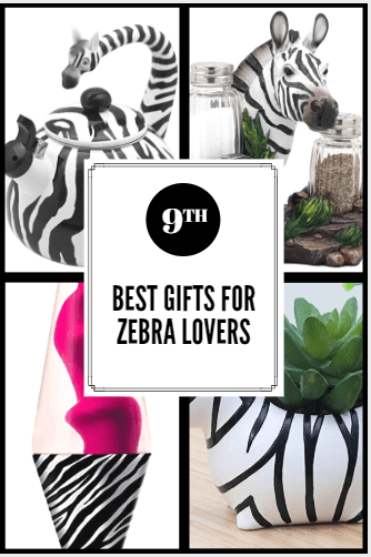 Best Gifts For Zebra Lovers