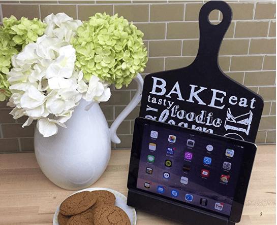 Cookbook iPad Stand