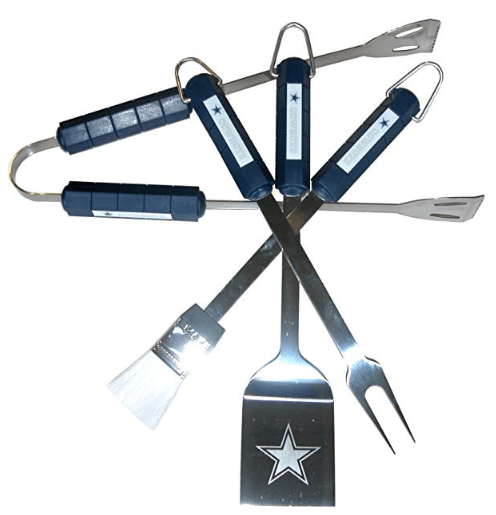 Dallas Cowboys 4 Piece BBQ Set