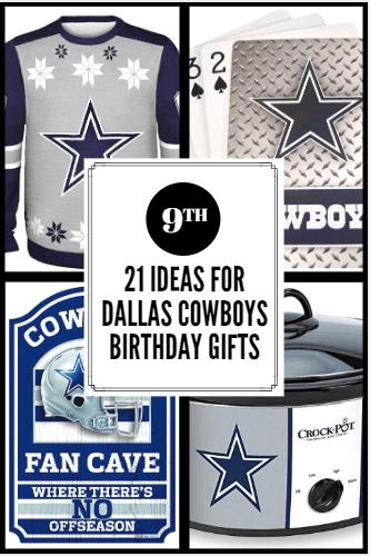 Dallas Cowboys Birthday Gifts
