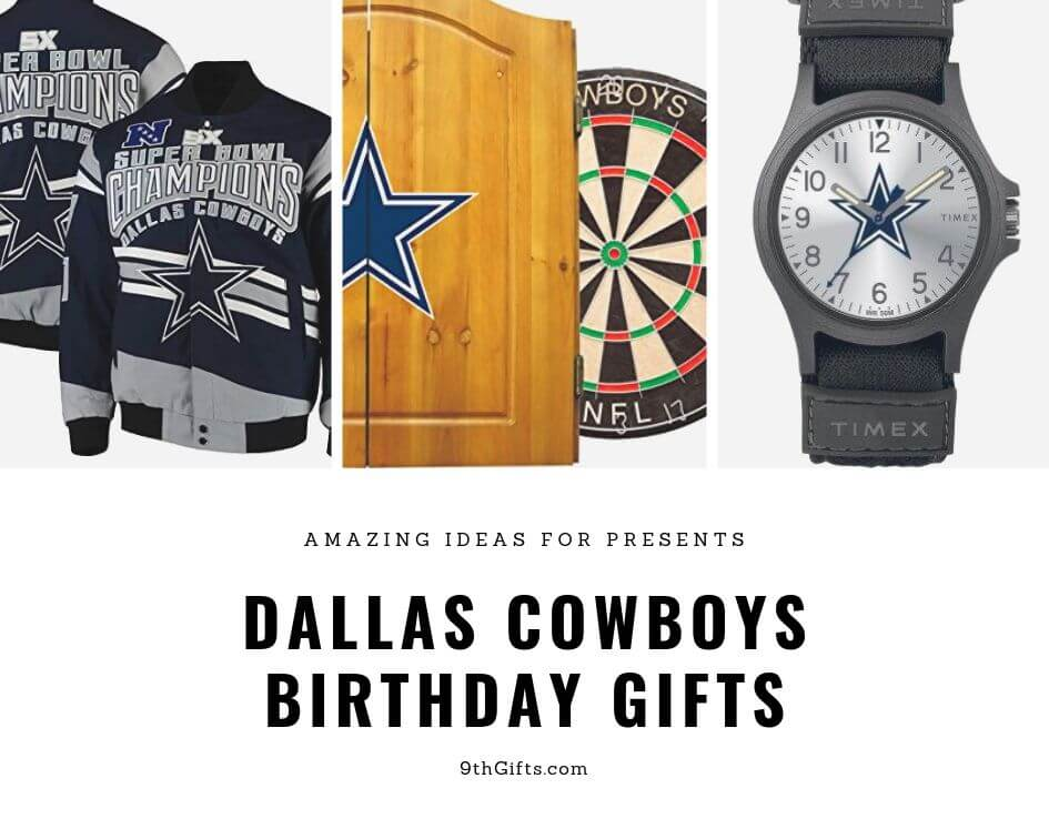 Dallas Cowboys Birthday Gifts