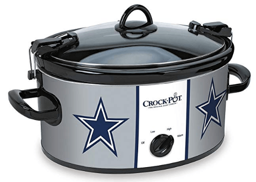 Dallas Cowboys Crock Pot