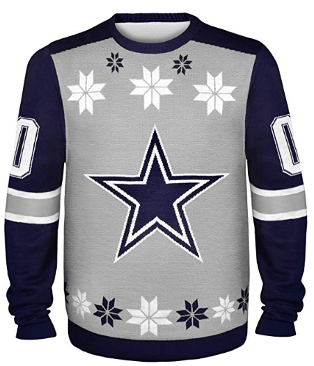 Dallas Cowboys Jersey Sweater