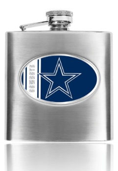 Dallas Cowboys Personalized Flask