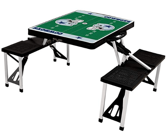 Dallas Cowboys Portable Folding Picnic Table