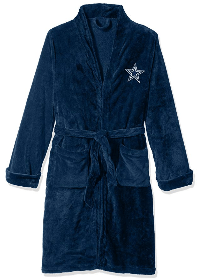 Dallas Cowboys Silk Lounge Robe