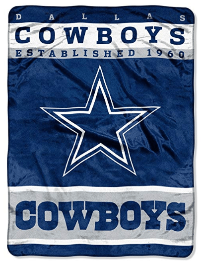 Dallas Cowboys Throw Blanket