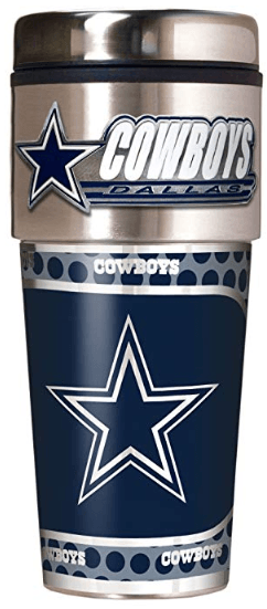 Dallas Cowboys Travel Tumbler
