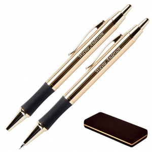 Engraved Pen And Pencil Set