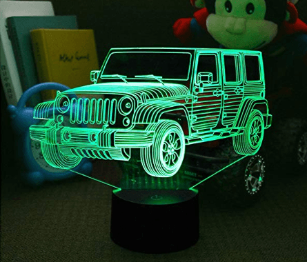 Jeep 3D Night Light