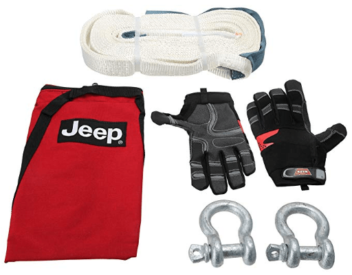 Jeep Emergency Tow Kit