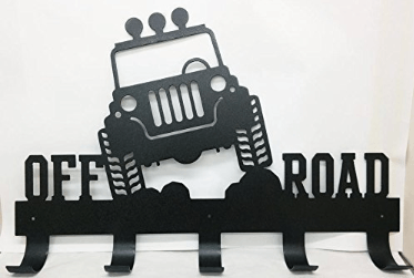 Jeep Off Road Coat Rack
