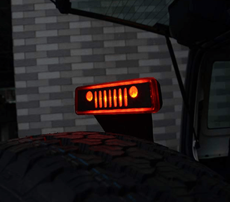 Jeep Third Brake Light Cover