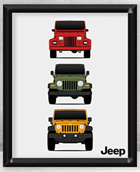 Jeep Wall Art
