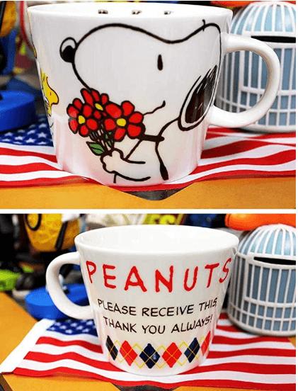 Made In Japan Snoopy Coffee Mug