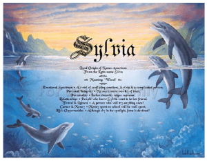 Personalized Dolphin Birthday / Anniversary Card