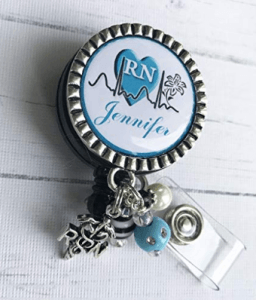 Personalized Nurse ID Badge