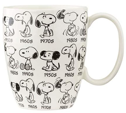 Snoopy 65th Anniversary Mug