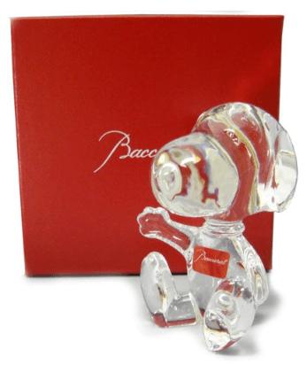 Snoopy Baccarat Figure