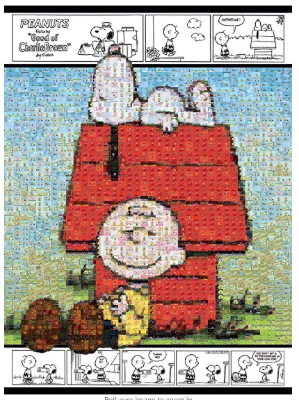 Snoopy & Charlie Brown Jigsaw Puzzle