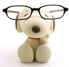 Snoopy Eyeglass Stand