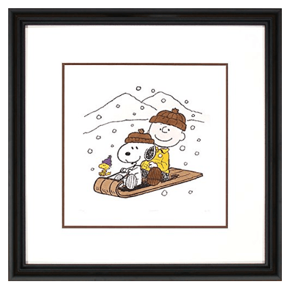 Snoopy Hand Colored Original Etching