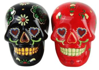 Sugar Skull Salt And Pepper Set