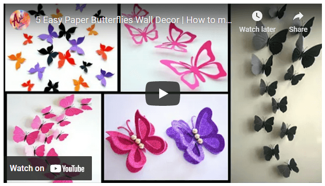 DIY Butterfly Gifts